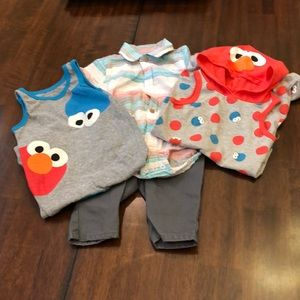 3-6 Months Boys Clothing